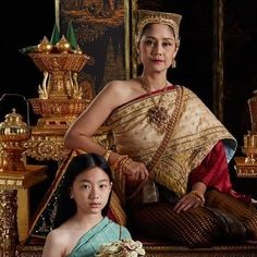 Thai Dress, My Idol, Sari, Celebrities, Dresses, Fashion, Saree, Vestidos, Moda