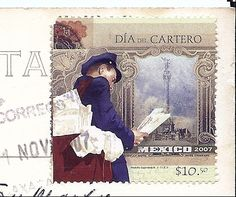 MAIL~stamp from Mexico