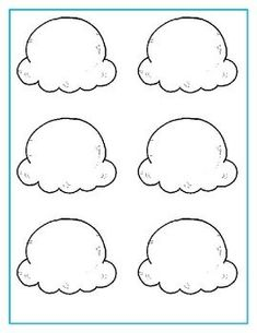 Ice Cream Incentives - My PinUse these ice cream cones and scoops to create fun incentives to motivate your students! Preschool Worksheets, Preschool Learning, Toddler Activities, Preschool Activities, Activities For Kids, Summer Crafts For Kids, Craft Projects For Kids, Art For Kids, Summer Themes For Preschool