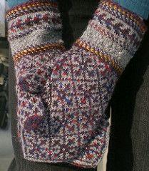 Ravelry: Maimu's Mittens pattern by Nancy Bush Knitted Mittens Pattern, Knit Mittens, Knitted Gloves, Knitting Socks, Knitting Patterns, Fair Isle Knitting, Knit Picks, Knitting Accessories, Knit Crochet