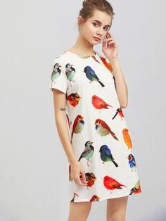 Buy SheIn Casual dress for woman at best price. Compare Dresses prices from online stores like SheIn - Wossel Global Cute Dresses, Casual Dresses, Summer Dresses, Shift Dresses, Casual Wear, Men Casual, Fashion Week, Look Fashion, Men Fashion