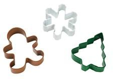 Christmas 3 piece Coloured Cutter Set by Wilton USA - EarlyWhirly - The Best Deals on The Best Wooden & Educational Toys