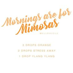 Mornings are for Mimosas   Mimosas Diffuser Blend   Diffuser Blend   Essential Oil Diffuser Blend   Diffuser Blend Orange   Young Living Essential Oils   Millennioils.com
