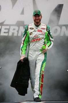 Dale Jr. & Mt. Dew...the two loves of life!