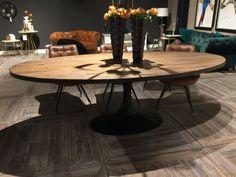 Esstisch oval schwarz, Tisch schwarz, Länge 240 cm Table, Oval Table Dining, Sweet Home, Interior, Table And Chairs, Dining Table Chairs, Home Decor, Dining, Dining Table