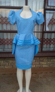 Stylish dress by Tsholopfelo Mogotsi @HopeMorato Designs