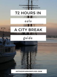 Oslo City Break   European Travel   Oslo Itinerary   Travel To Norway