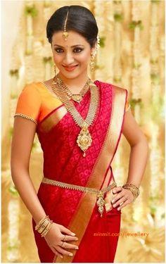 Pothys Sarees are one of the Gorgeous south India sarees. This site consists of pothys designer sarees, silk sarees, wedding sarees and many others. South Indian Wedding Saree, South Indian Sarees, South Indian Bride, Saree Wedding, Indian Bridal, Tamil Wedding, Bridal Sari, Indian Weddings, Bollywood