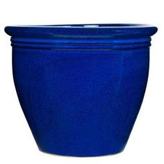 Pennington 18 in. Imperial Blue Stone Wellington - The Home Depot Plant Health, Container Plants, Planter Pots, Backyard, Outdoor Furniture, Stone, Herb Garden, Yard Ideas, Blue