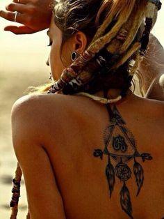 12 Dreamcatcher Tattoos You May Love | Pretty Designs
