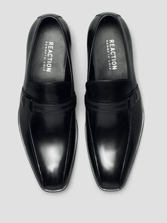 Save-Ty First Leather Loafer, BLACK