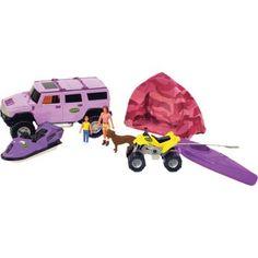 Girls' Hummer SUV Camping Set