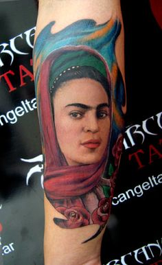 Los mejores tatuajes de Frida Kahlo