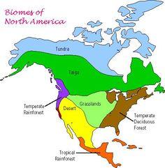 Biomes of North America - ThingLink