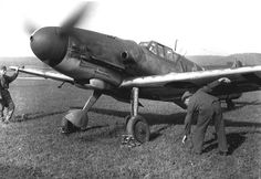 https://flic.kr/p/4iTHvr | Bf 109 G6 Jagdgeschwader 101 (2)