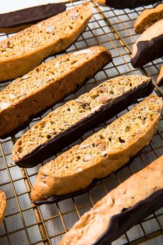 Our Perfect Biscotti Is The Best Excuse To Eat Cookies For BreakfastDelish Italian Cookie Recipes, Italian Cookies, Baking Recipes, Dessert Recipes, Italian Desserts, Baking Ideas, Dessert Ideas, Best Biscotti Recipe, Almond Biscotti Recipe Easy