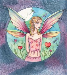 Fairy Art: A Window to Fairyland by Artist Molly Harrison