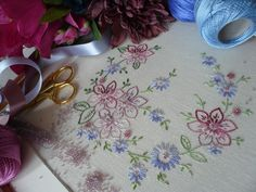 Beautiful Cross Stitch and Embroidery Kits from Maggie Gee Needlework Studio on Etsy, Ebay, Folksy and Facebook...