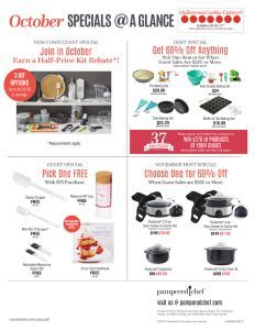 flyer-specials-at-a-glance-oct2017-us.pdf Pampered Chef, Portal, Pdf, Entertaining, Funny