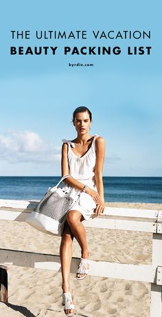 The only packing list you need for beautiful beach days this summer