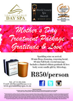 The Pyramid Day Spa Johannesburg Sparkling Wine, Spa Day, Massage, Massage Therapy