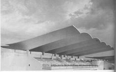 Hipodromo de la Zarzuela, Madrid 1935. Eduardo Torroja