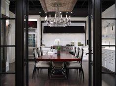 De Giulio's kitchen design in Chicago's Ritz-Carlton Residences ~  Luxury High Rise Interiors