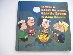First Edition It Was A Short Summer Charlie Brown by parkledge, $45.00