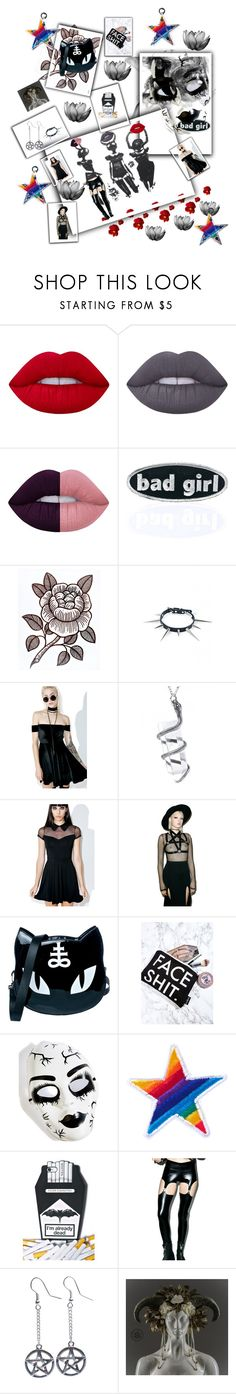 """""""➰⭐️Thursday Empowerment only for Powerful Women ⭐️〰"""" by maijah ❤ liked on Polyvore featuring Lime Crime, C&D Visionary, NecroLeather, Valfré, Killstar, Teale Coco, GirrlScout, Leg Avenue, Ana Accessories and Shade"""