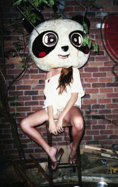 Panda head. Le Pigeon, Panda Head, Pop Songs, Eye Candy, Disney Characters, Fictional Characters, Tumblr, Cool Stuff, Disney Princess