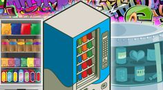 A gold-dispensing vending machine in Abu Dhabi, and more of the world's wackiest vending machines..