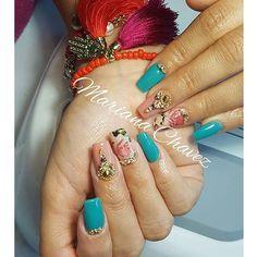 #marianachavezuñas #culiacan #nailsfactory #coffinnails