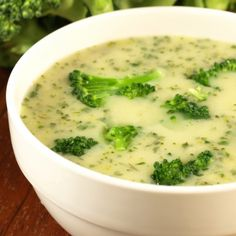 A recipe for a quick and easy to make Creamy Potato Broccoli Soup. Creamy Potato Broccoli Soup Recipe from Grandmothers Kitchen.