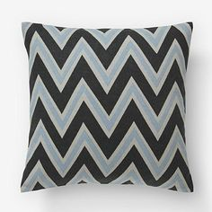 Chevron Pillow Cover #WilliamsSonoma