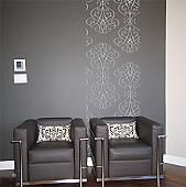 Iron Scrollwork Wall Runners - Trading Phrases