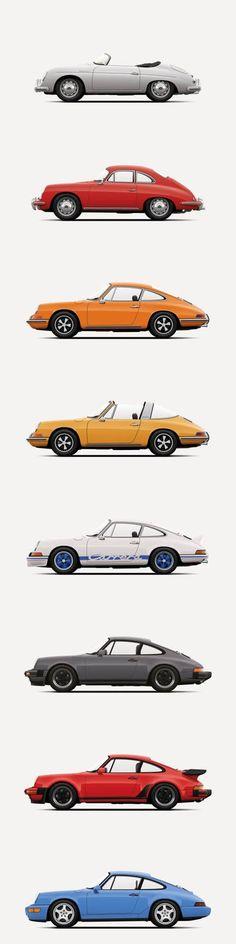 Martin Miskolci - Porsche / 356 / 911 / 964 / Speedster / Targa / Turbo / Germany / silver red yellow blue grey More