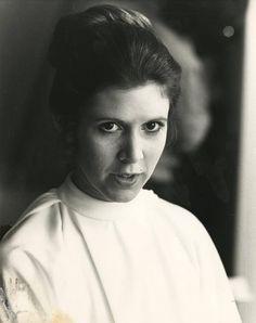 Carrie Fisher as Princess Leia Leia Star Wars, Star Wars Darth, Carrie Fisher Shampoo, Saga, Han And Leia, Leila, Star Wars Models, Star Wars Film, The Empire Strikes Back