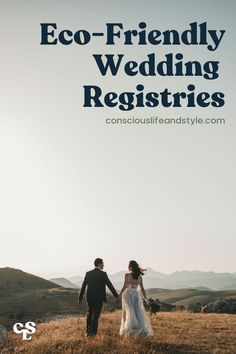 It may feel overwhelming at first to plan out a registry that aligns with your dream of a low-impact and sustainable wedding. This guide has curated some incredible ethical and eco-friendly wedding registry options out there for your special day. Check out these 10 options for donation, experience, and physical gifts. #Weddingregistries #Weddingregistryideas #Sustainableweddingregistry #Eco-friendlywedding Sustainable Wedding, Sustainable Living, Honeymoon Registry, Experience Gifts, Donate To Charity, Feeling Overwhelmed, Sustainability, Eco Friendly, Consumerism