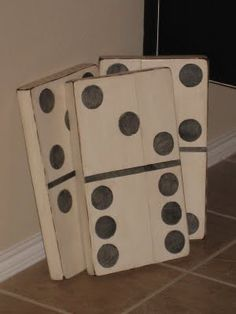 I would hang on the wall in the game room. Fun game room decor DIY