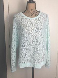Cato Womens Shirt 18/20 Lave Ming Green Long Sleeve    eBay