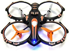 RC Stunt Drone Quadcopter w/ 360 Flip: Crash Proof, 4 CH, 3 Bladed Propellers, Extra Drone Battery for Extended Fly Time w/ Practice Landing Pad, 2 USB Charger & Spare Parts - Drones Heaven Best Remote Control Helicopter, Remote Control Drone, Usb, Drone For Sale, New Drone, Drone Technology, Flip, Drone Quadcopter, Drone Photography