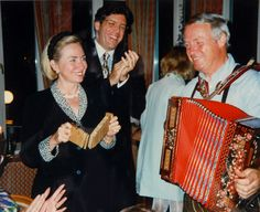 Hilary Clinton und Balthasar Hauser (via @stanglwirt) - www.stanglwirt.com