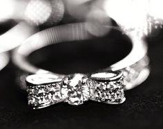 Bow Diamond Ring A-D-O-R-E!!