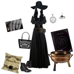 The good witch by missvespera on Polyvore featuring polyvore fashion style Yang Li Carolina Glamour Collection Alaïa Apples