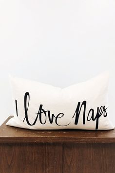I Love Naps Pillow | ROOLEE