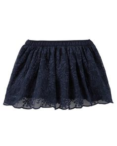 Baby Girl Lace Skirt from OshKosh B'gosh. Shop clothing & accessories from a trusted name in kids, toddlers, and baby clothes.
