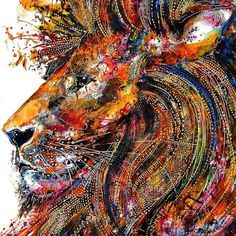 Zebra Art provides the information about the art world. News about painting, photography, illustration, exhibition, sculpture and installation art. Lion Of Judah, Lion Art, Drawing Artist, Illustrations, Cool Drawings, Art Projects, Art Photography, Street Art, Currently Working