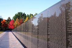 Vietnam War Memorial ~ Washington, DC. Unfinished War on Communism.