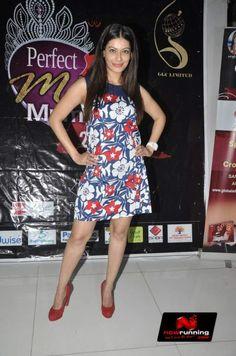 Payal Rohatgi at the auditions of 'Perfect Miss Mumbai 2014'