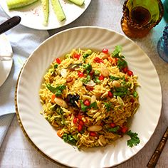 Mediterranean Brown Rice Pilaf